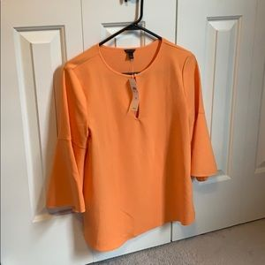Ann Taylor Bell sleeve blouse